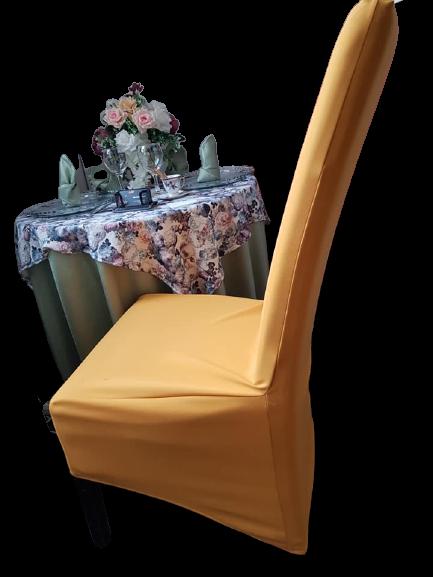"""Huse elastice pentru scaun- tesatura """"scuba-crep"""""""