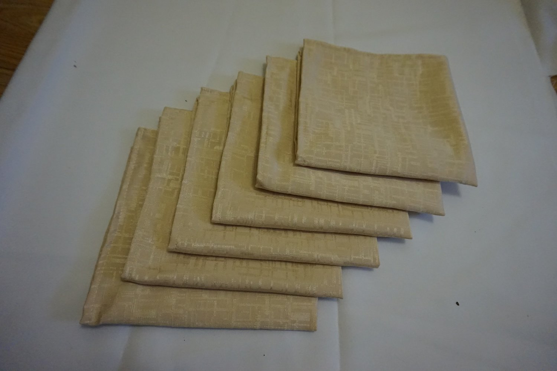 Servet 40x40 cm - jakard beige