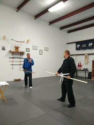 Intro to Stick Fighting (3-hour Workshop)
