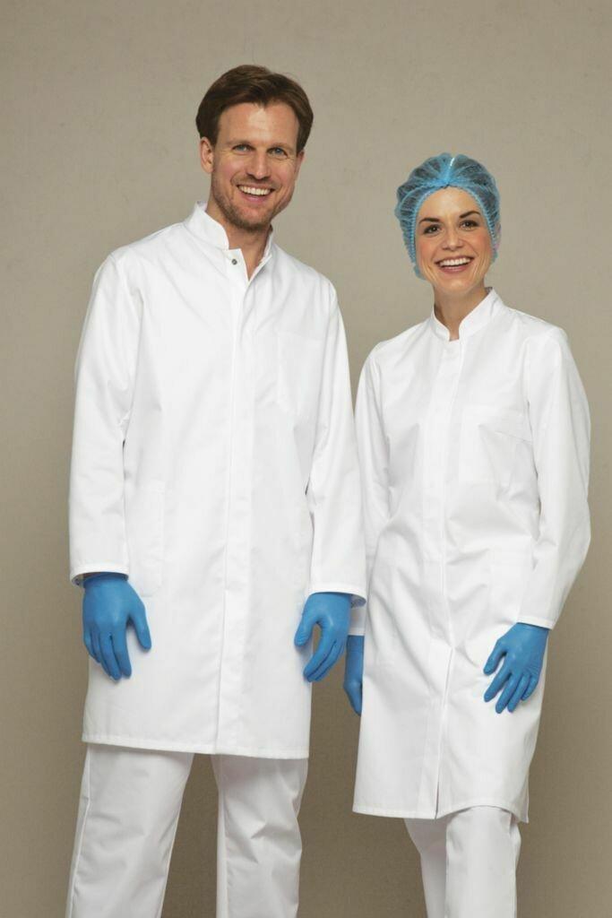 HACCP COATS, POLYESTER/COTTON, SIZE 16 LADIES