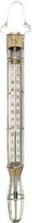 SUGAR THERMOMETER IN CAGE +90+200