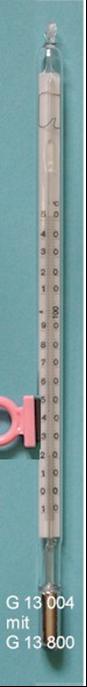 MAXIMUM THERMOMETER -10 + 100:1 Hg
