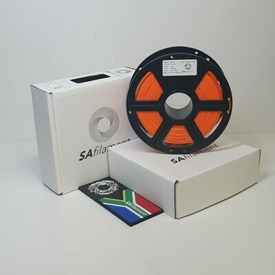 Orange PLA Filament, 1Kg, 1.75mm by SA Filament