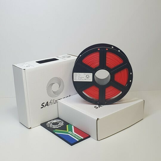 Fire Engine Red PLA Filament, 1Kg, 1.75mm by SA Filament