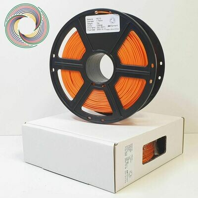 Orange PetG Filament, 1Kg, 1.75mm by SA Filament
