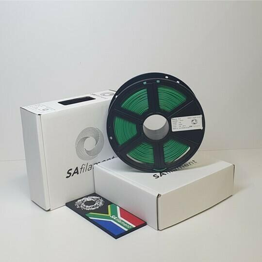 Green PLA Filament, 1Kg, 1.75mm by SA Filament