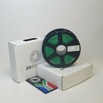 Green PLA Filament, 1Kg, 1.75mm by SA Filament