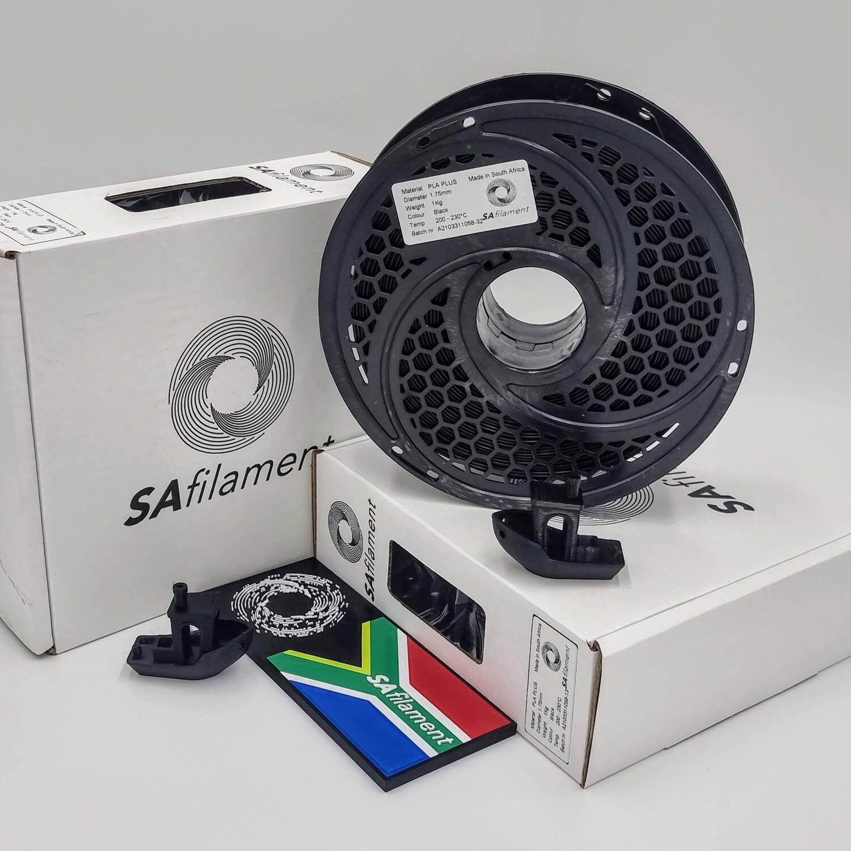 Charcoal PLA Filament, 1Kg, 1.75mm by SA Filament