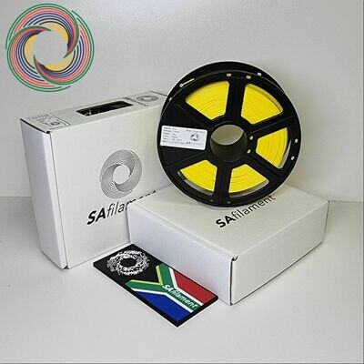 Yellow PLA Filament, 1Kg, 1.75mm by SA Filament