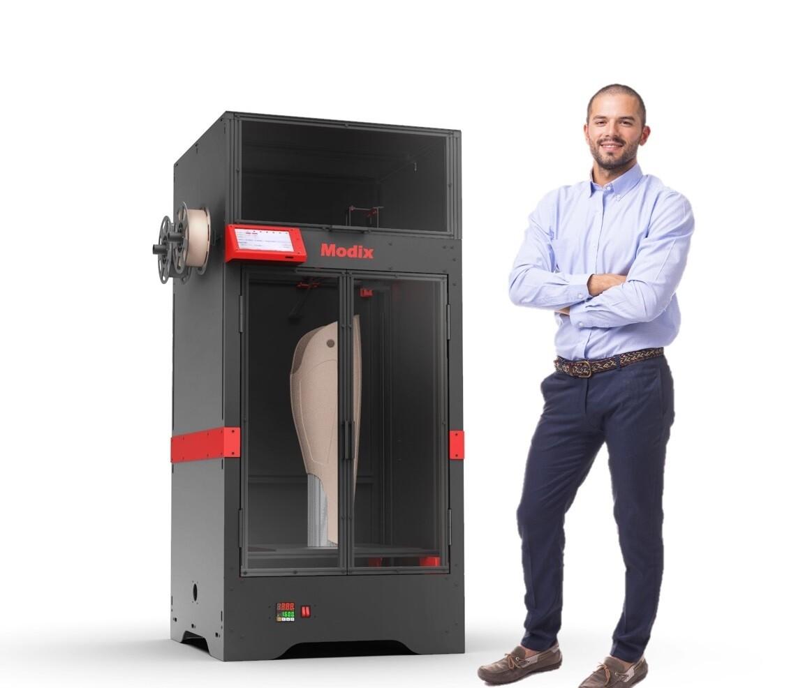 Modix BIG40 Large Scale 3D Printer