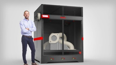 Modix BIG Meter Large Scale 3D Printer