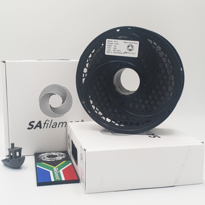 Grey PetG Filament, 1Kg, 1.75mm by SA Filament