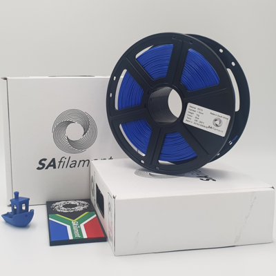 Blue PetG Filament, 1Kg, 1.75mm by SA Filament