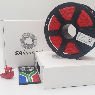 Red PLA Filament, 1Kg, 1.75mm by SA Filament