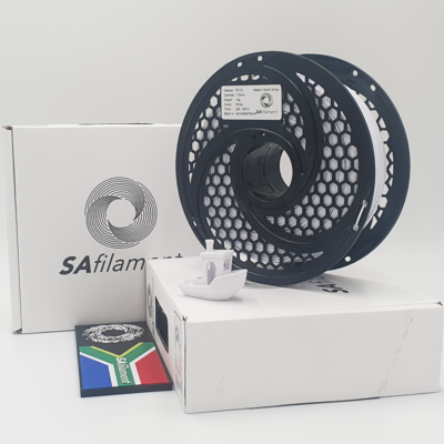 White PetG Filament, 1Kg, 1.75mm by SA Filament