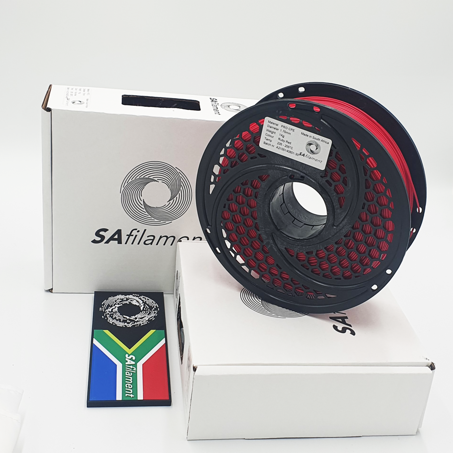 Red Pro CPE Filament, 1Kg, 1.75mm by SA Filament