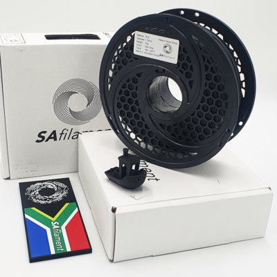 Dark Grey PLA Filament, 1Kg, 1.75mm by SA Filament