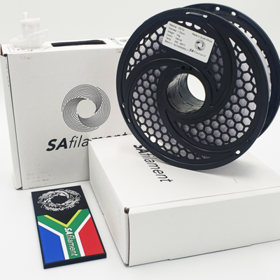 Natural PetG Filament, 1Kg, 1.75mm by SA Filament