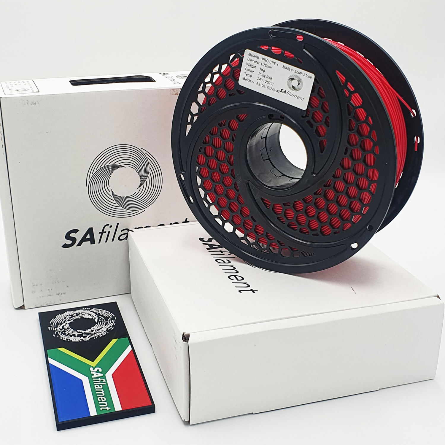 Red Pro CPE+ Filament, 1Kg, 1.75mm by SA Filament