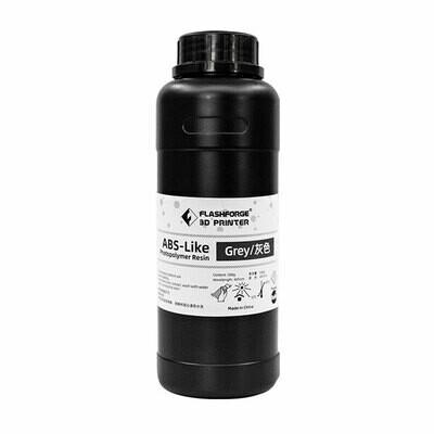 Grey ABS-Like Photopolymer Resin (500ml) by Flashforge