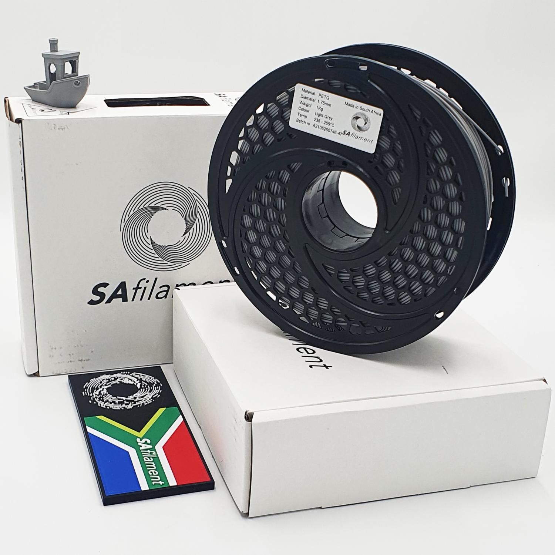 Light Grey PetG Filament, 1Kg, 1.75mm by SA Filament