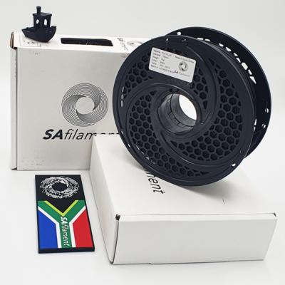 Black PLA Plus Filament, 1Kg, 1.75mm by SA Filament