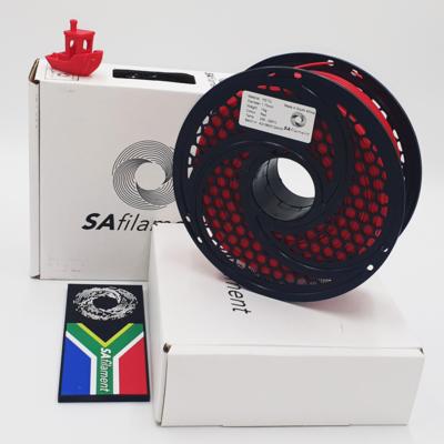 Red PetG Filament, 1Kg, 1.75mm by SA Filament