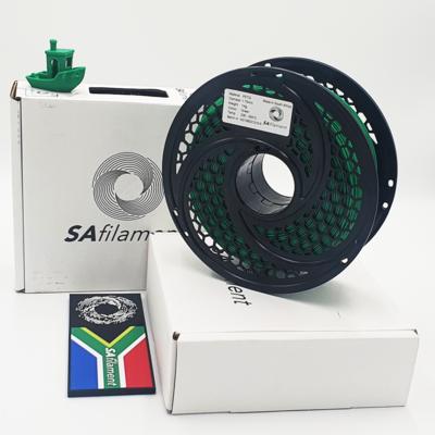 Green PetG Filament, 1Kg, 1.75mm by SA Filament