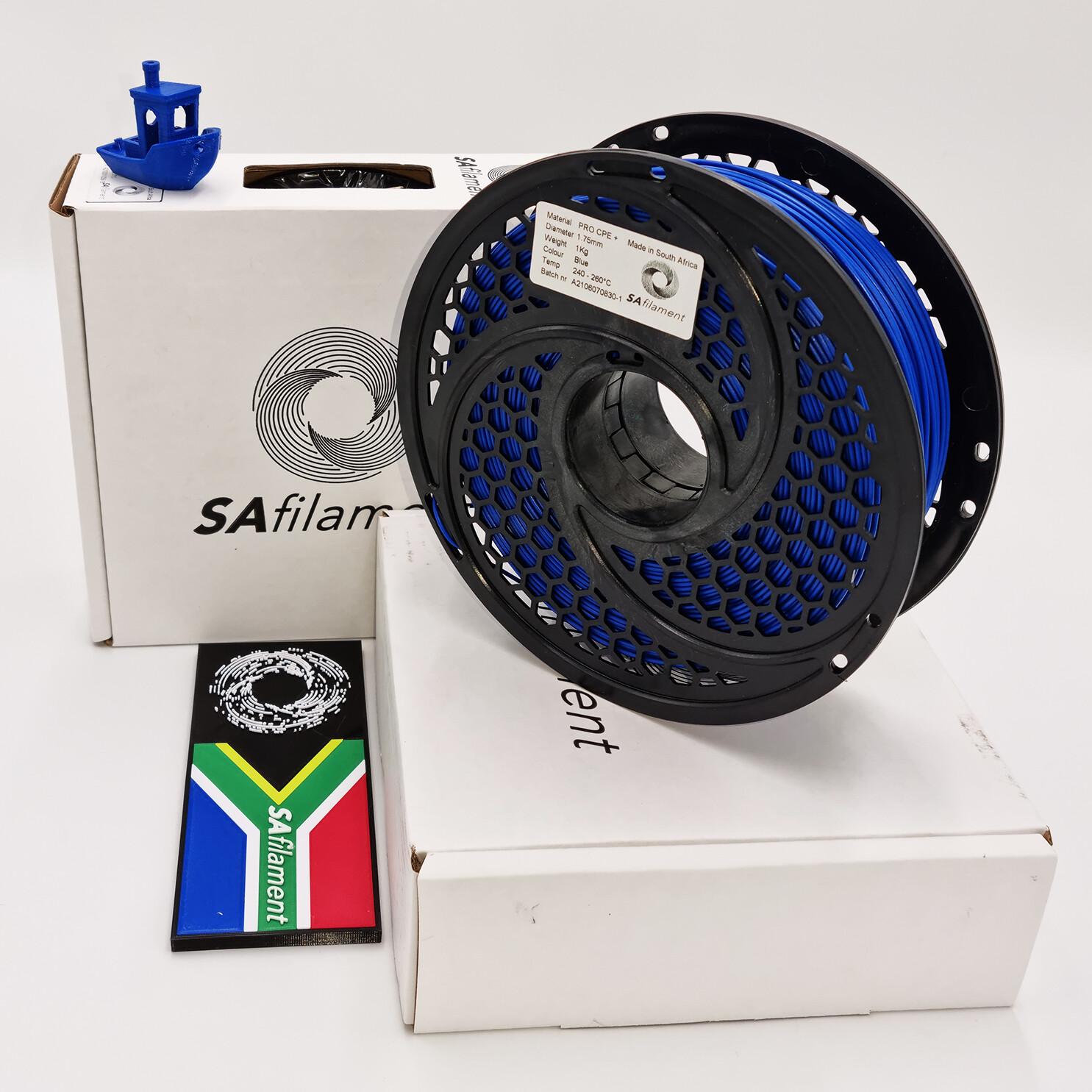 Blue Pro CPE+ Filament, 1Kg, 1.75mm by SA Filament