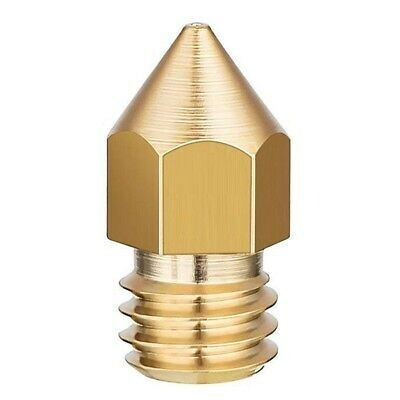 Creality MK8 Brass Nozzle - 0.2mm
