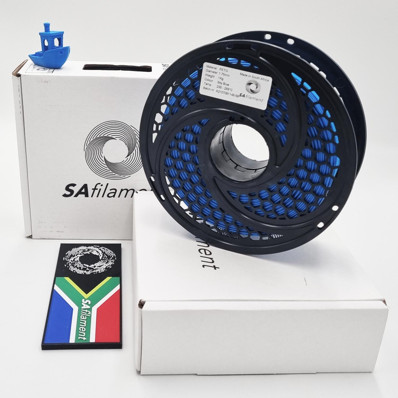 Sky Blue PetG Filament, 1Kg, 1.75mm by SA Filament