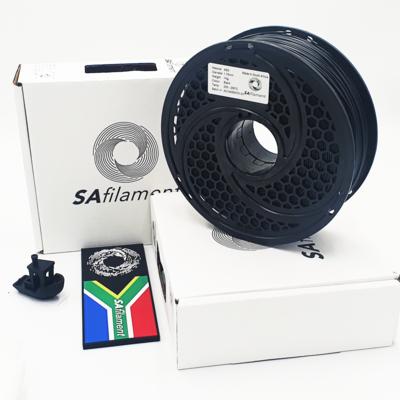 Black ABS Filament, 1Kg, 1.75mm by SA Filament
