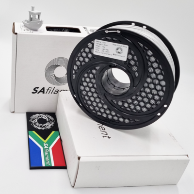 Light Grey ABS Filament, 1Kg, 1.75mm by SA Filament