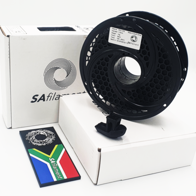Black Pro CPE Filament, 1Kg, 1.75mm by SA Filament
