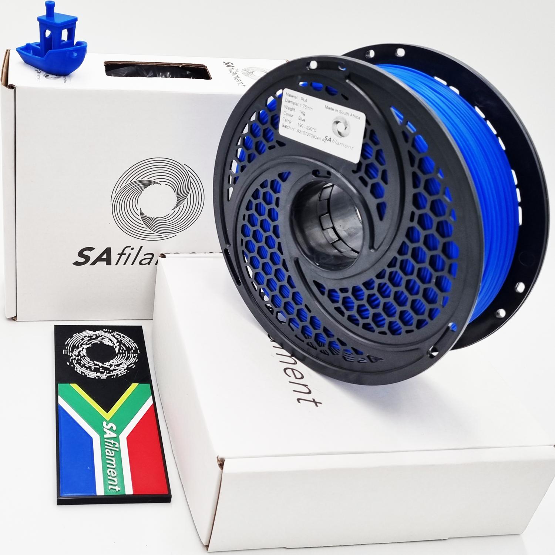 Blue PLA Filament, 1Kg, 1.75mm by SA Filament