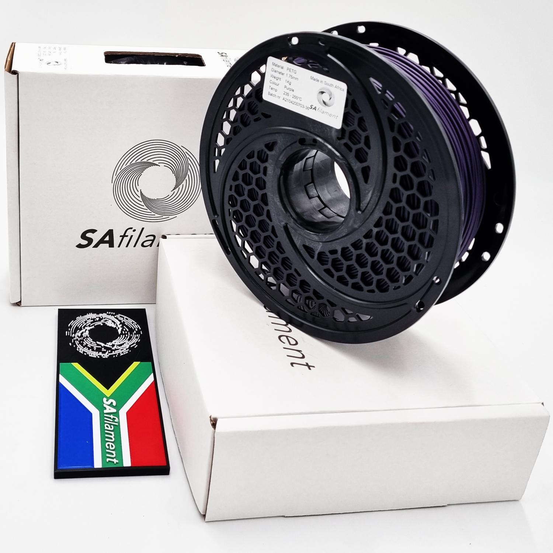 Purple PetG Filament, 1Kg, 1.75mm by SA Filament