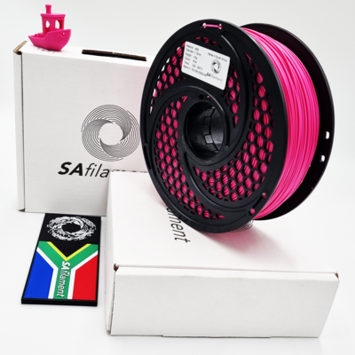Pink ABS Filament, 1Kg, 1.75mm by SA Filament
