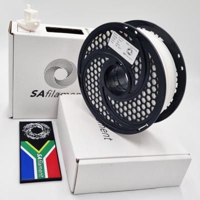 Natural White Silk PLA Filament, 1Kg, 1.75mm by SA Filament