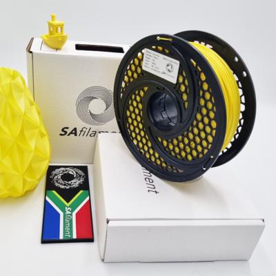 Yellow Silk PLA Filament, 1Kg, 1.75mm by SA Filament
