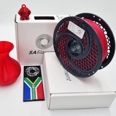 Red Silk PLA Filament, 1Kg, 1.75mm by SA Filament