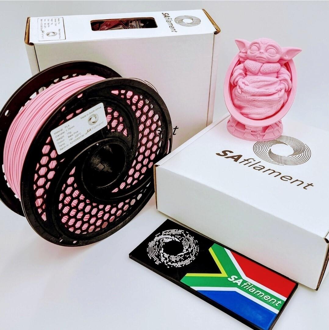 Baby Pink PLA Filament, 1Kg, 1.75mm by SA Filament