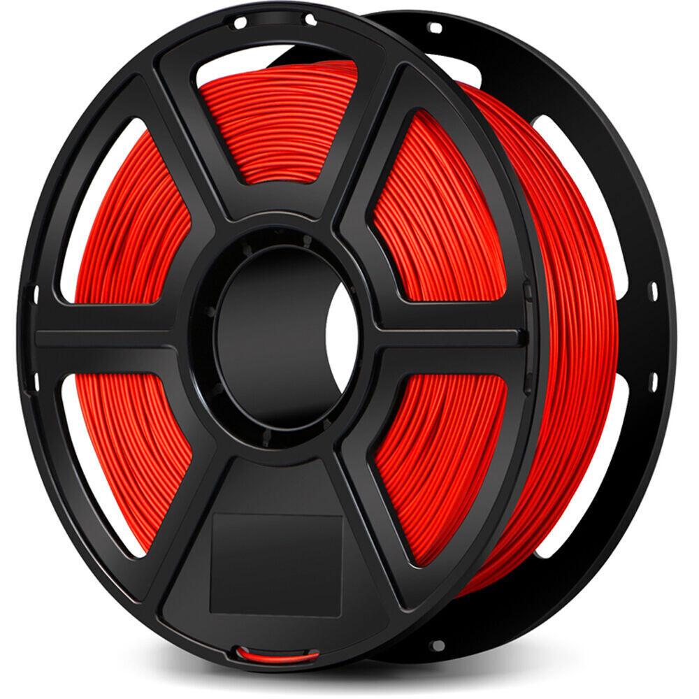 Flashforge Red Flexible Filament, 1Kg, 2.85mm