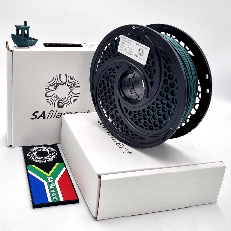 Olive Green PetG Filament, 1Kg, 1.75mm by SA Filament