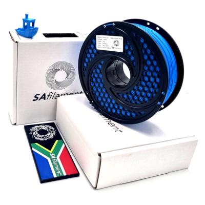Silky Sky Blue PLA Plus Filament, 1Kg, 1.75mm by SA Filament