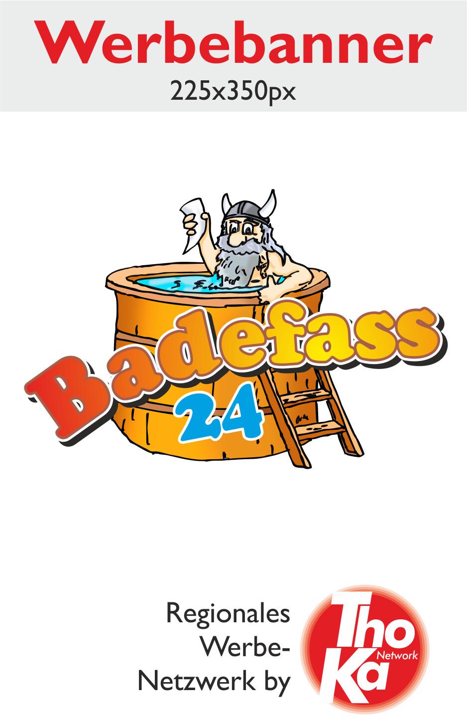 Badefass 24