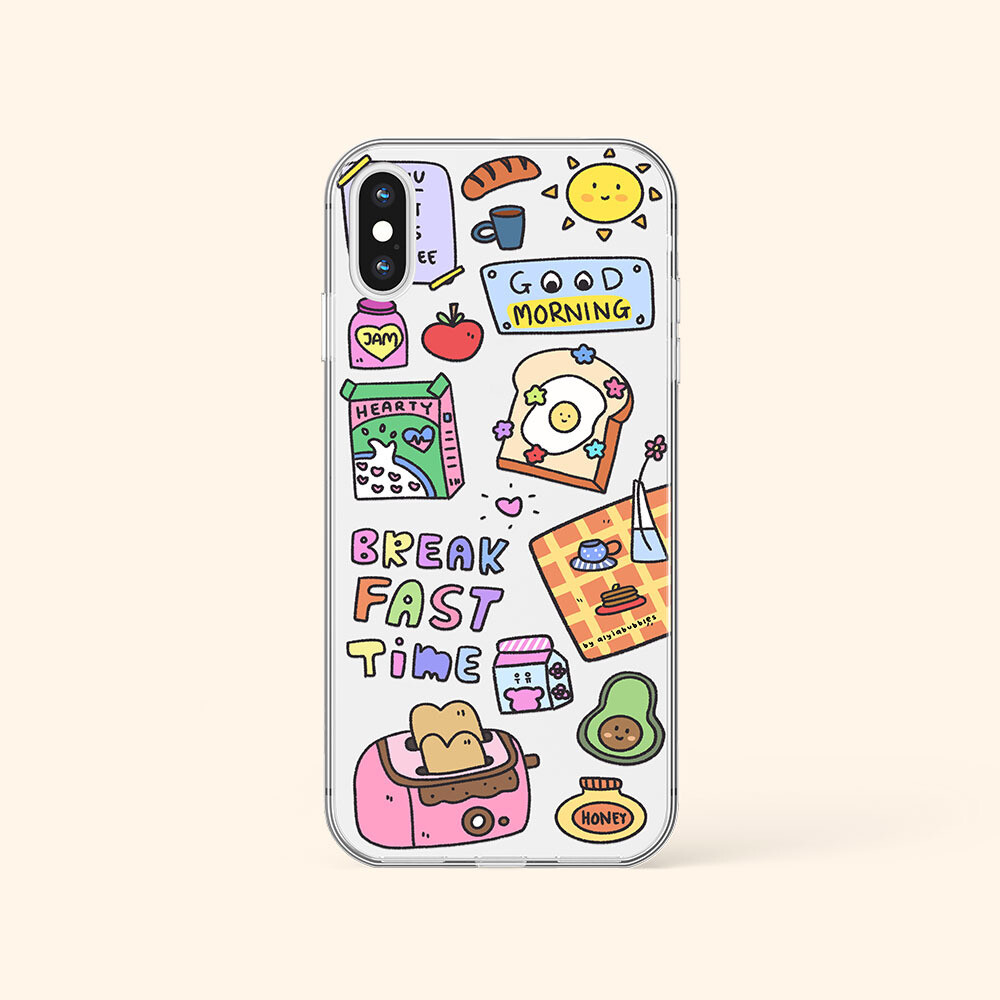 BREAKFAST TIME JELLY PHONE CASE