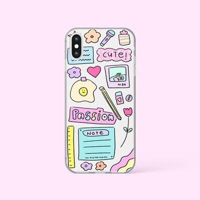 MY STATIONERIES JELLY PHONE CASE