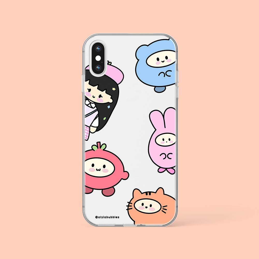 PEEKABOO JELLY PHONE CASE