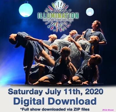 LAS Dance Production Digital Download Saturday July 11, 2020