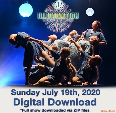 LAS Dance Production Digital Download Sunday July 19, 2020